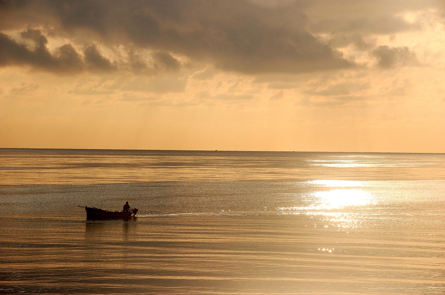 Tramonto sul mare | Gela le radici del Futuro