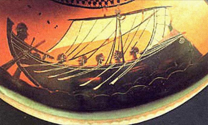 Raffigurazione nave | Gela le radici del Futuro