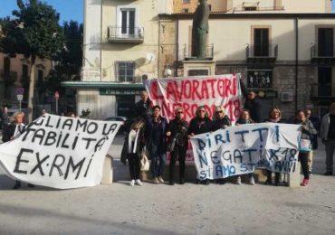 Protesta lavoratori RMI Gela | Gela le Radici del Futuro