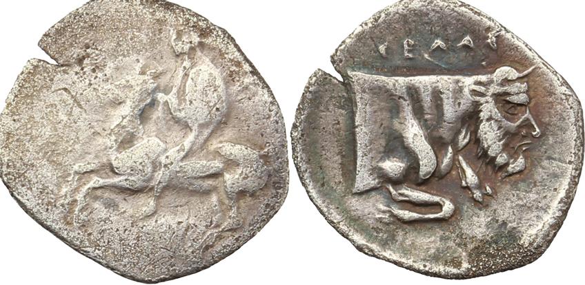Monete antiche di Gela