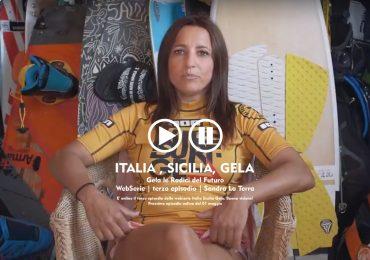webserie italia, sicilia, gela, terzo episodio, sandra la terra