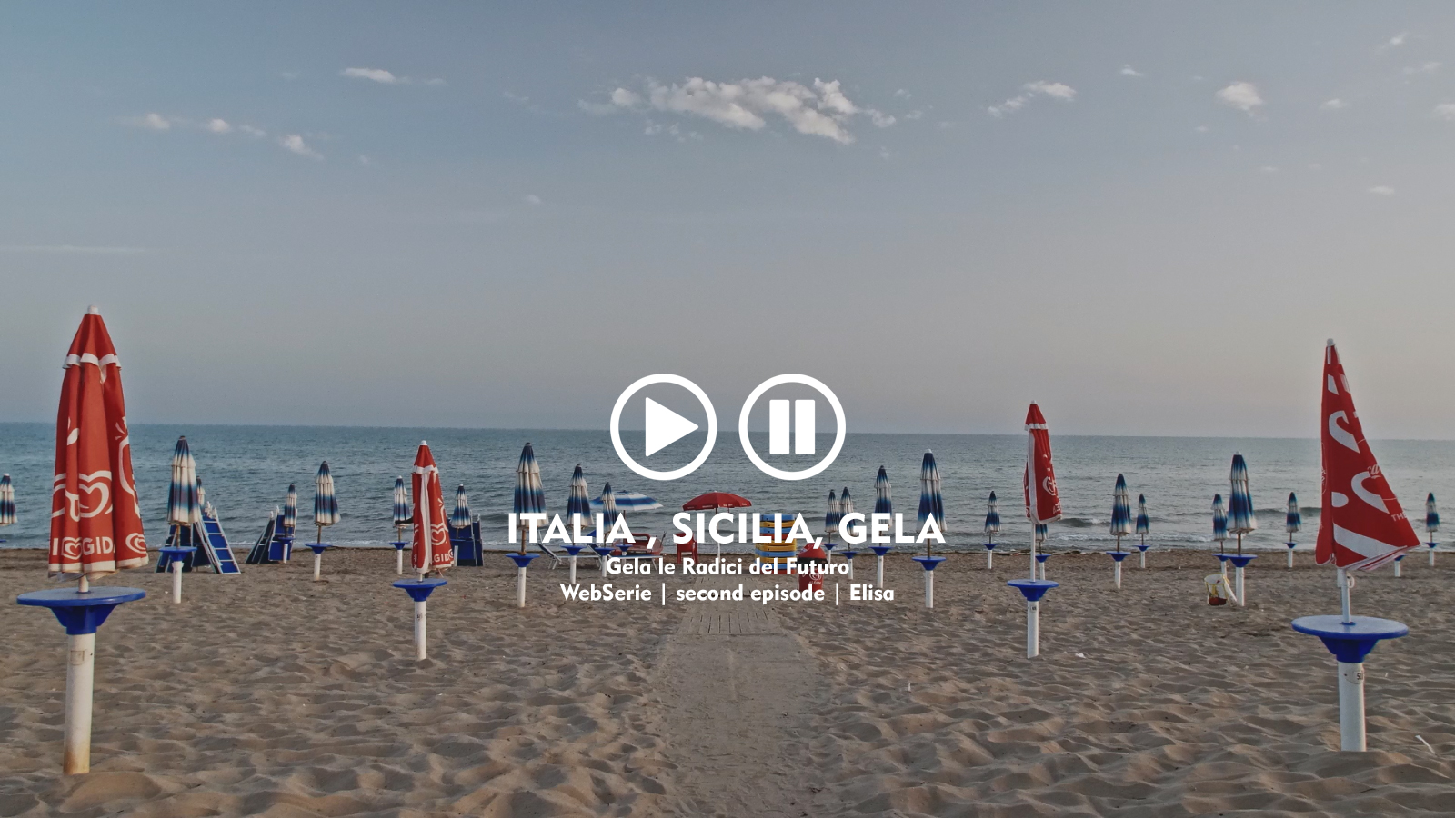 webserie | italia, sicilia, gela | second episode | elisa