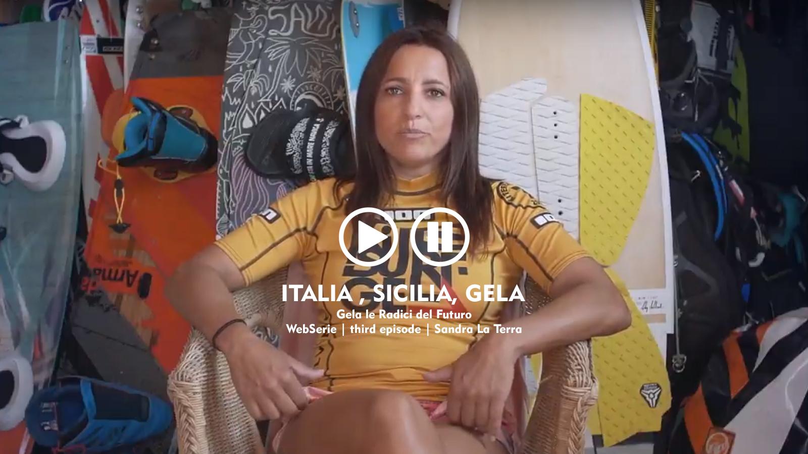 webserie | italia, sicilia, gela | third episode | sandra