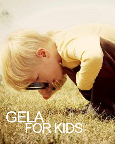 banner gela for kids