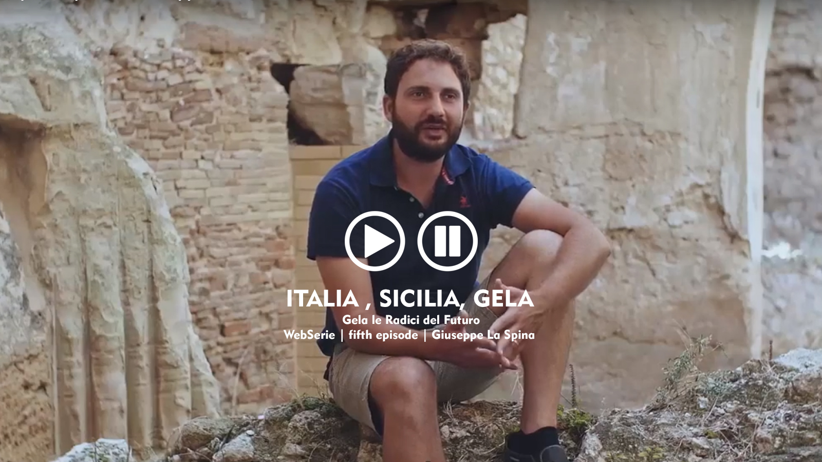 webserie | italia, sicilia, gela | fifth episode | giuseppe