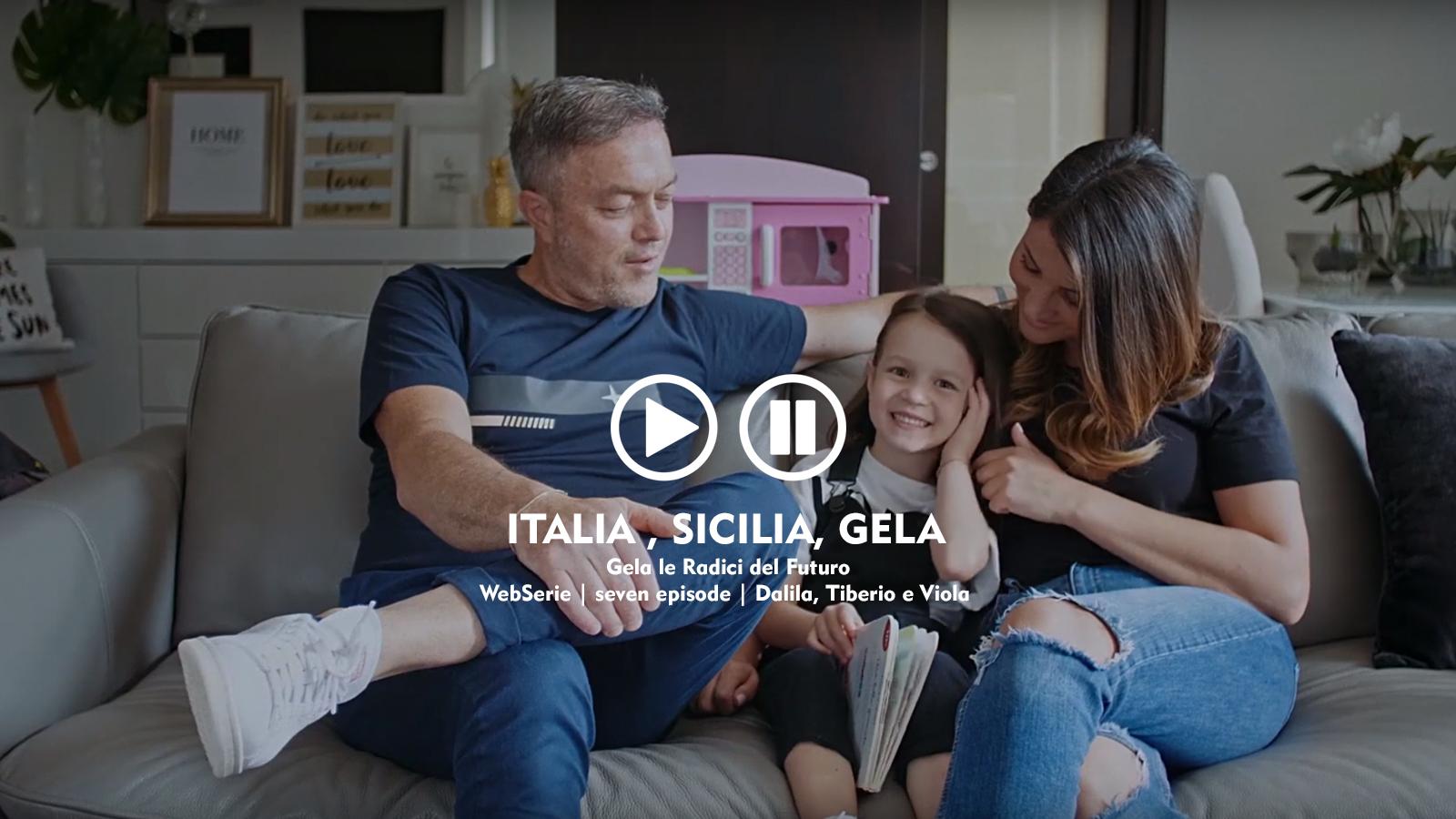 webserie | italia, sicilia, gela | seven episode | dalila, tiberio e viola
